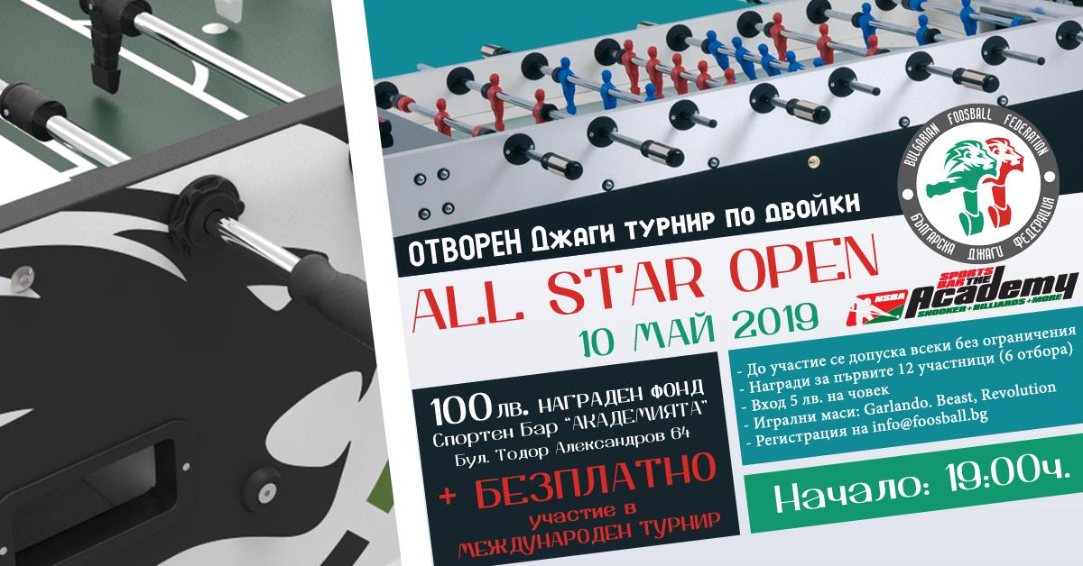 Отворен турнир по джаги 2019