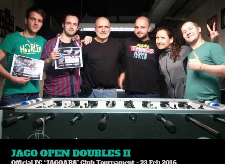Jago Open Doubles II - 23.02.2016
