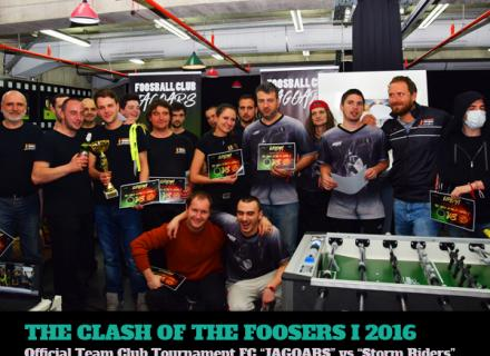 The Clash of the Foosers VII - 22.3.2016