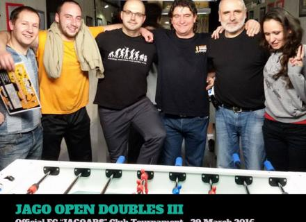 foosball club tournament doubles 2016